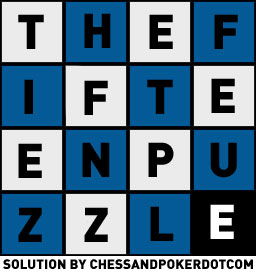 fifteen puzzle solution