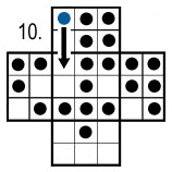 peg solitaire move 10