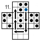peg solitaire move 11