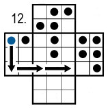 peg solitaire move 12