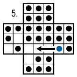 peg solitaire move 5