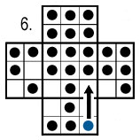 peg solitaire move 6
