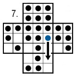 peg solitaire move 7