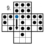 peg solitaire move 9