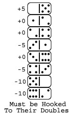 Hooking Double Dominoes